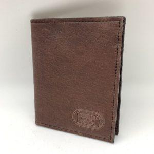 Buffalo Leather Passport Wallet - Brown by Buffalo Billfold Company