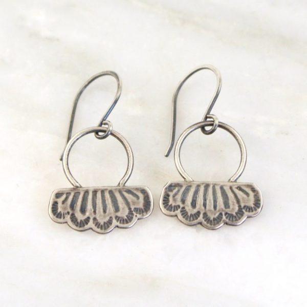 Southwest Lace Loop Earrings Sarah Deangelo