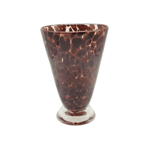 Speckle Cup - Cherry Wood Kingston Glass Studio