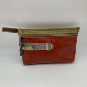 Everyday Stash Bag - Brown/Olive by Traci Jo Designs