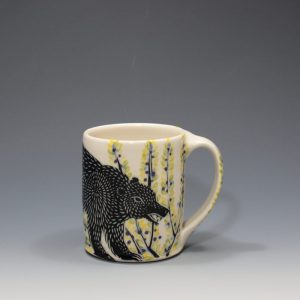 Black Bear Mug - 1 Sue Tirrell