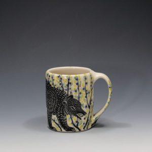 Black Bear Mug - 2 Sue Tirrell