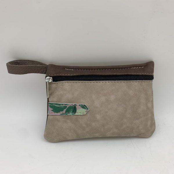 Mini Stash Bag by Traci Jo Designs - Leaves