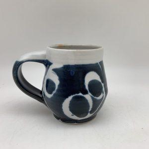 Navy String-Design Mug by Margo Brown - 2383