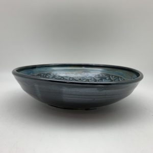 Scalloped Shallow Bowl by Margo Brown - 2427