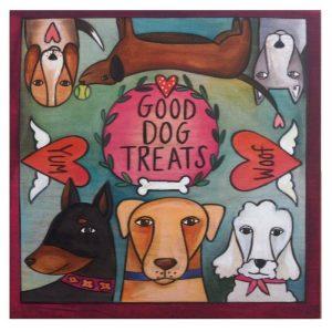 """Treat Time"" Dog Treat Box by Sincerely Sticks"