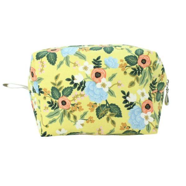 Medium Cosmetic Bag by Dana Herbert - Butter Floral