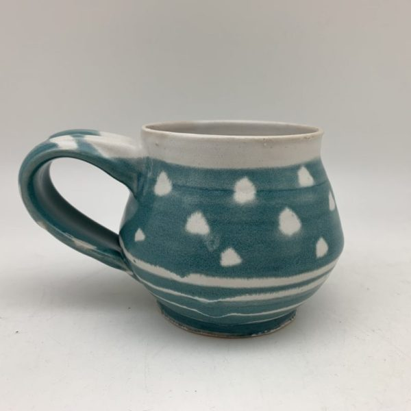 Dotted Turquoise Mug by Margo Brown - 2466