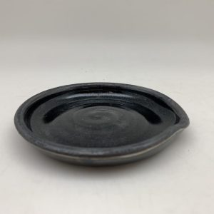 Black Porcelain Spoon Rest by Margo Brown - 2529