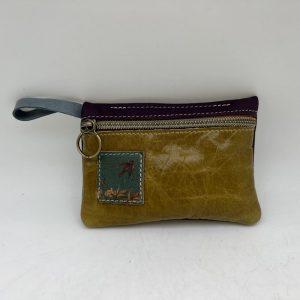 Mini Stash Bag by Traci Jo Designs - Olive/Bird - TJ23