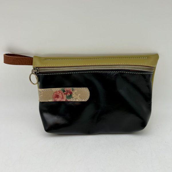 Everyday Stash Bag by Traci Jo Designs - Black/Floral - TJ31