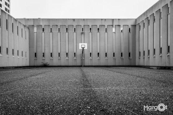 Bijlmerbajes - basketbalplein