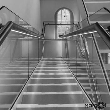 stairway and reflections - Scheepvaartmuseum