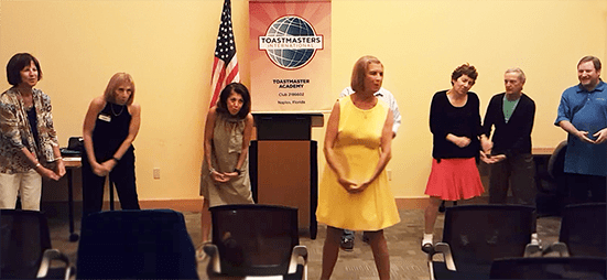 Margot Toastmasters web