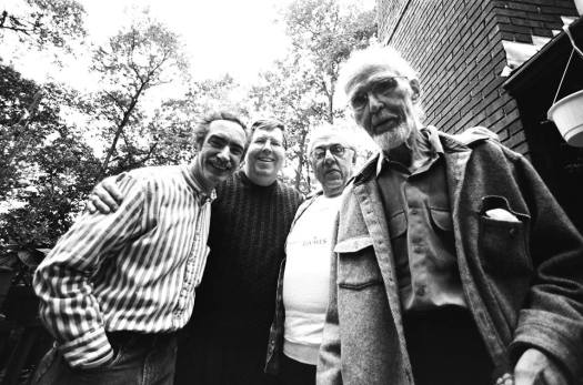 Photo Michael Golding, Willy WIley, Howard Jerome, David Shepherd