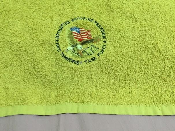 Op enduring towel
