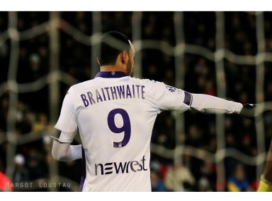 Martin Braithwaite PSG/TFC - 19022017