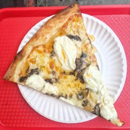 At NY Pizza Suprema, I finally find a ricotta slice I love