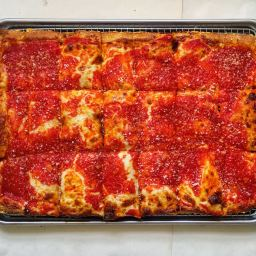 Recipe: Adam's Sunday Square (Sicilian Pizza)