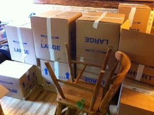 Boxes, boxes, boxes....