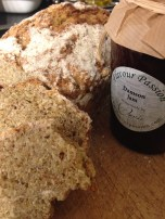 Divine Damson jam with Cherie's Irish Wheaten Bread