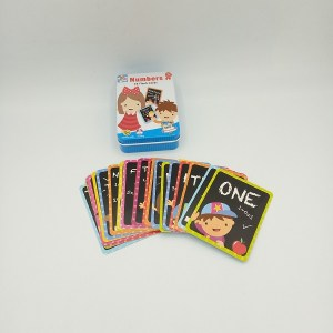 Alphabet and Numbers Flash Cards