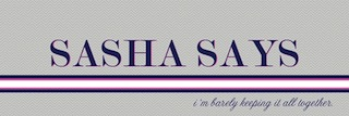 """Sasha Says"" blog cheers on Samantha"
