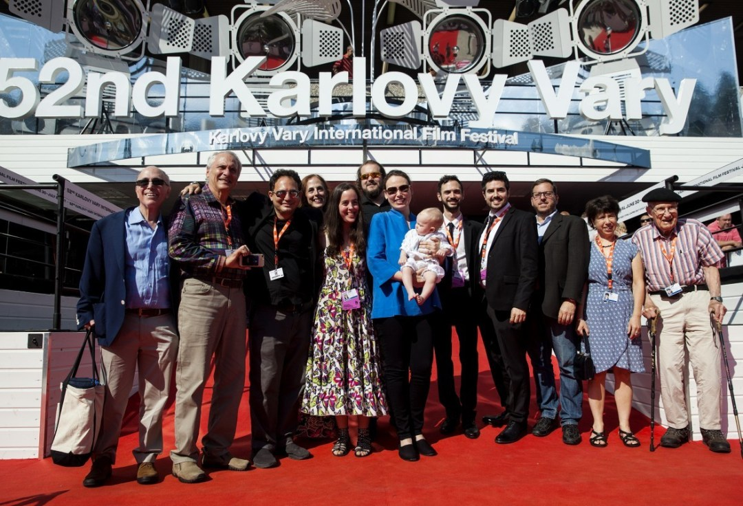 Standing Ovation at Karlovy Vary