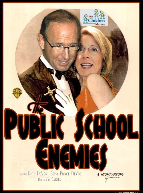 Betsy DeVos – Educational Enemy Number One