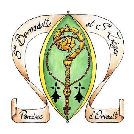 Sceau Paroisse Ste Bernadette et St Léger d'Orvault- Marguerite Le Bouteiller