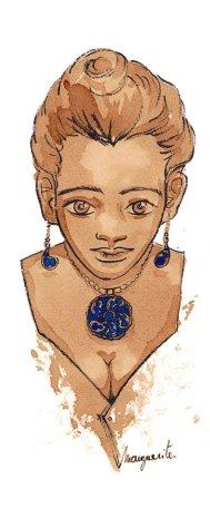 Bijoux Bleus - café et encre