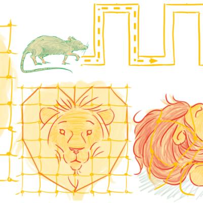 Le Lion et le Rat, Jean de la Fontaine, Cours Troubadour