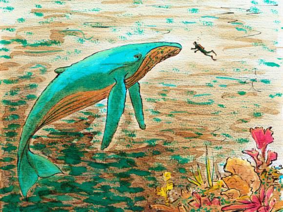 La Grande Bleue - illustration