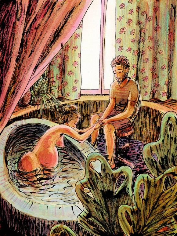 Naissance - illustration