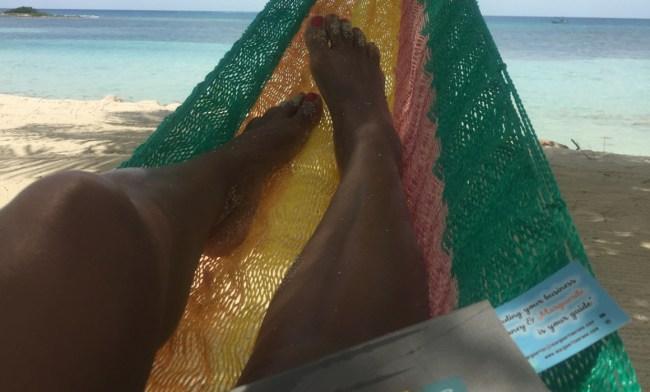 MO in a hammock