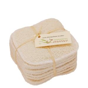 carrés démaquillants lavables bambou