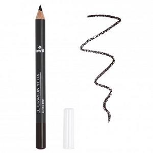 le crayon yeux bio avril beauté de couleur noir est disponible sur marguette.com au prix de 3€