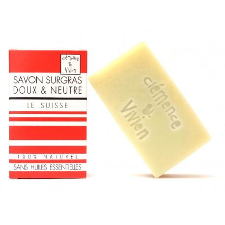 le suisse savon surgras pour peau sensible clémence et vivien