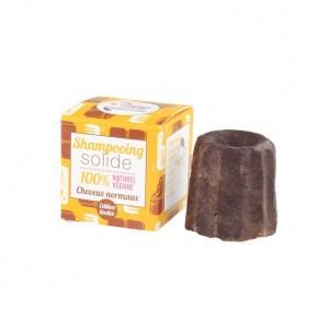 Le shampoing solide au chocolat de Lamazuna est disponible sur Marguette.com convient aux femmes enceintes et aux enfants en bas âge