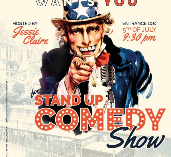 Visuel et support Stand Up Comedy Show