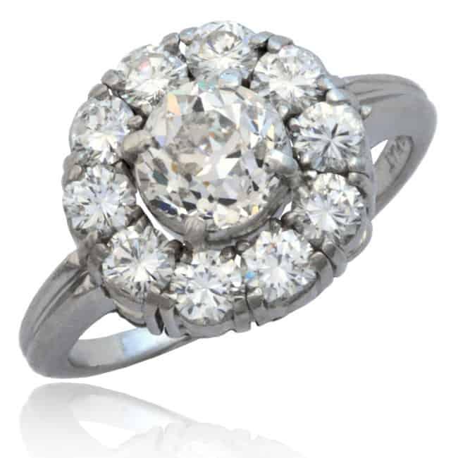Diamond Entourage Engagement Ring Image