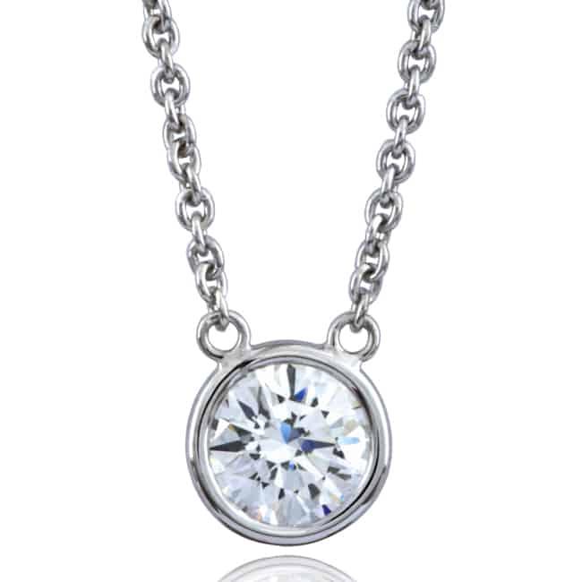Solitaire Diamond Pendant Image