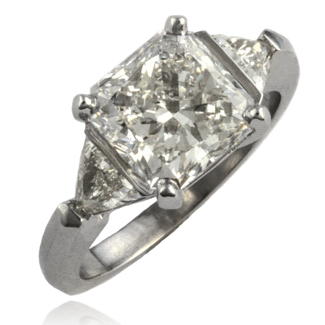 3 Diamond Engagement Ring Image