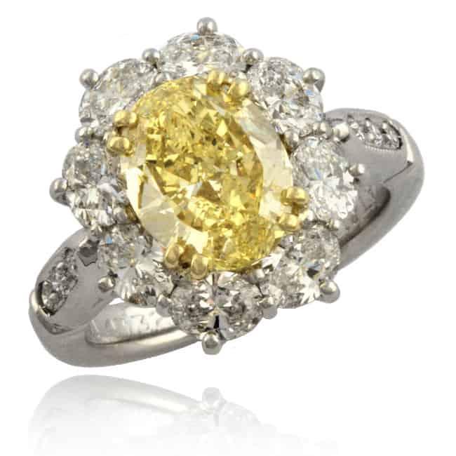 Fancy Yellow Diamond Ring Image