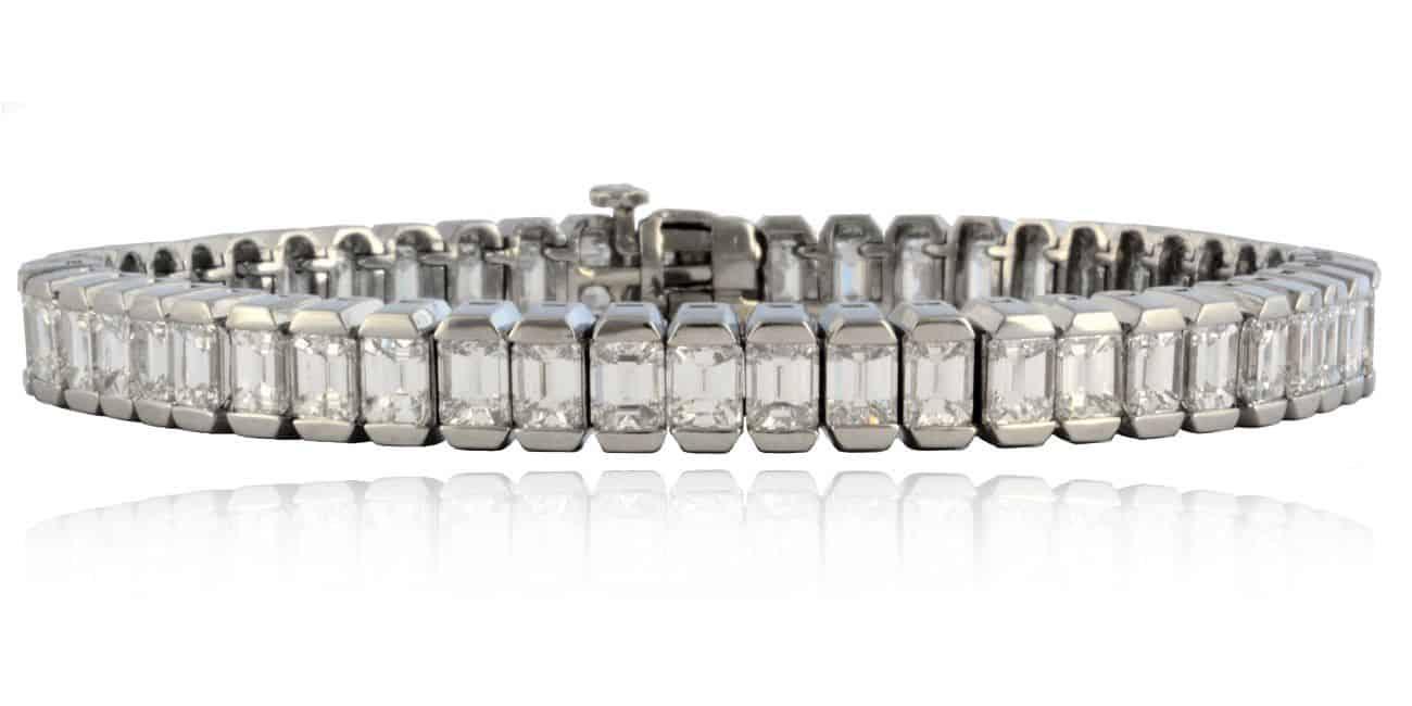 Baguette Diamond Bracelet Image