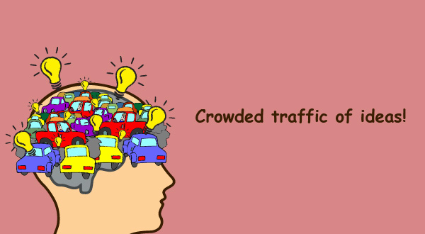 Crowded Traffic of Ideas leading to anxiety disorders