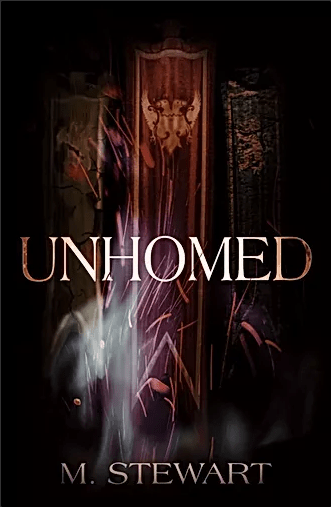 The cover of Unhomed... Well one day. Maybe.