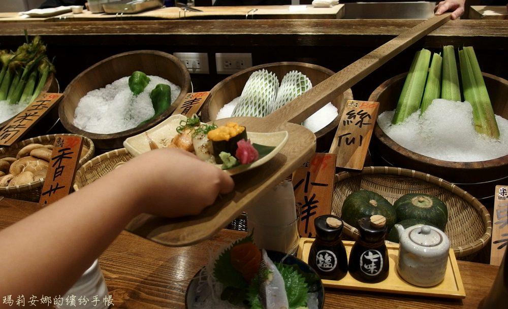 台中北屯美食|樂座爐端燒-船槳送餐 美味日本料理就在眼前料理@崇德店