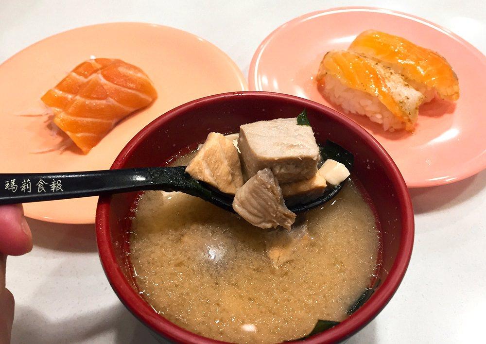 台中北區美食|爭鮮迴轉壽司 30元就能吃到的平價美味@中友店