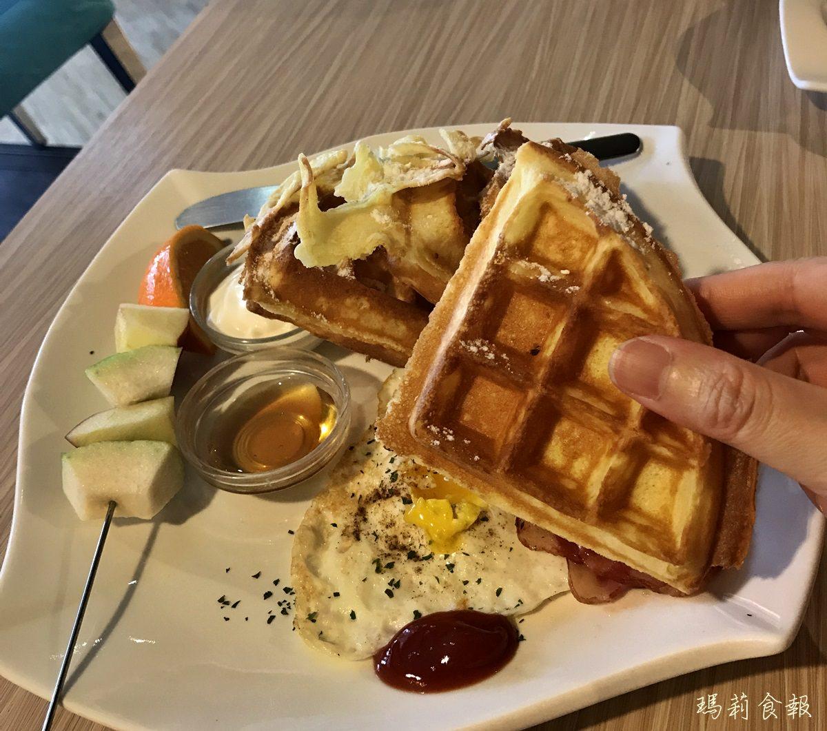 台中北區 In cafe 浸在咖啡 甜、鹹鬆餅必點 科博館周邊早午餐推薦
